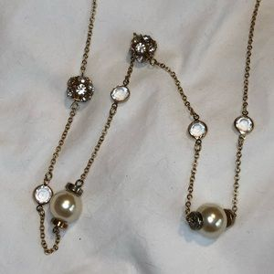 J. Crew Pearl Layering Necklace